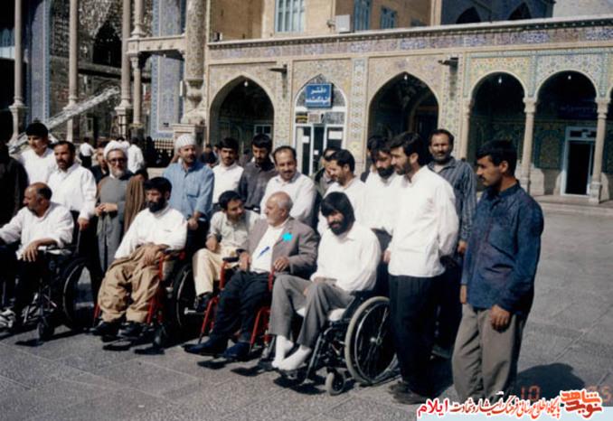 جانباز 70درصد شهید محمد کریم امیدی» از شهدای بهمن ماه استان ایلام